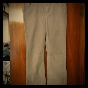 Style &Co tan corduroy pants w/ stylish pockets